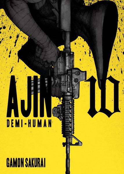 Ajin Demi-Human Manga Volume 10
