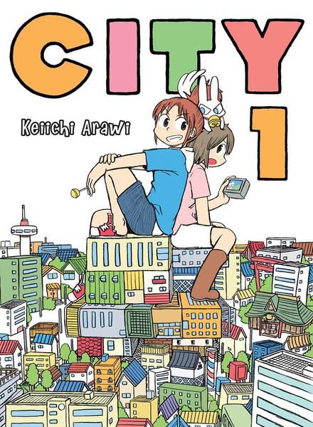 CITY Manga Volume 1
