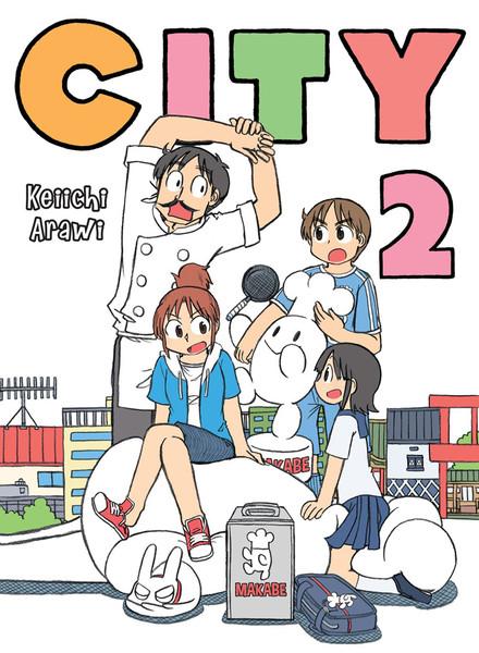 CITY Manga Volume 2
