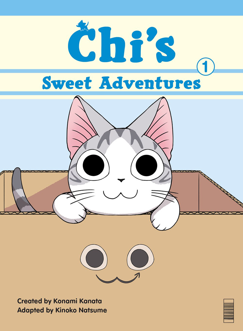 Chi's Sweet Adventures Manga Vol. 1 (Color)