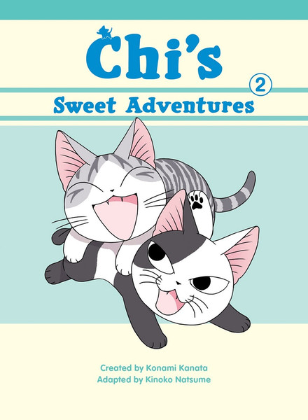 Chi's Sweet Adventures Manga Volume 2 (Color)