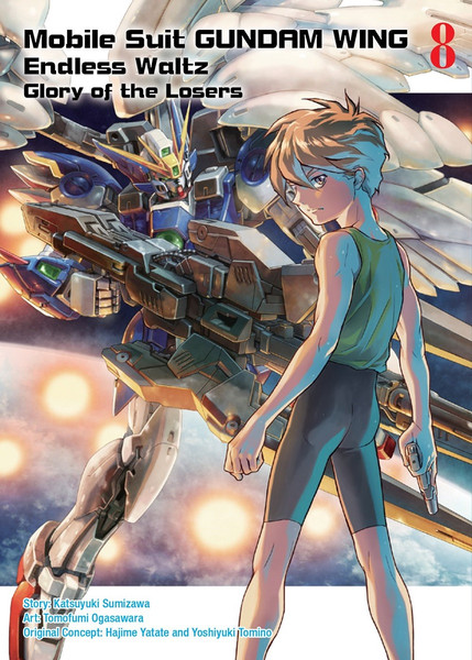 Mobile Suit Gundam Wing The Glory of Losers Manga Volume 8