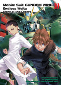 Mobile Suit Gundam Wing The Glory of Losers Manga Volume 10