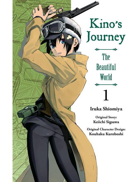 Kino's Journey the Beautiful World Manga Volume 1
