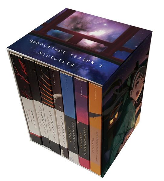 Monogatari Series Novel Box Set