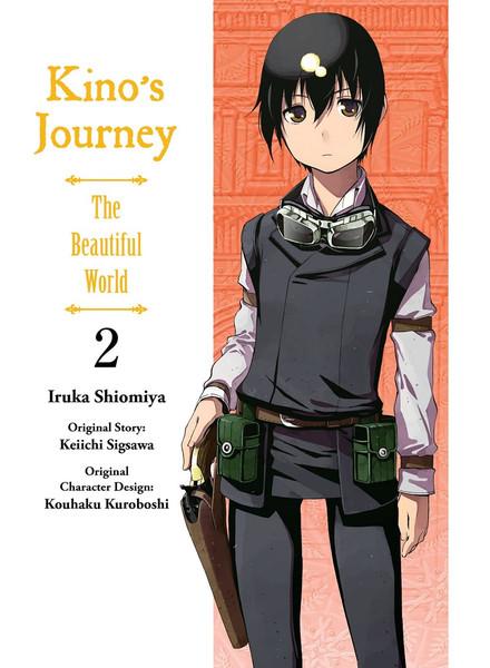 Kino's Journey the Beautiful World Manga Volume 2