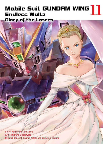 Mobile Suit Gundam Wing The Glory of Losers Manga Volume 11