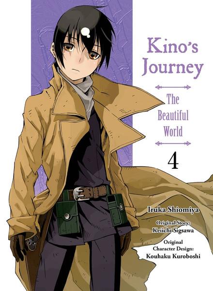 Kino's Journey the Beautiful World Manga Volume 4