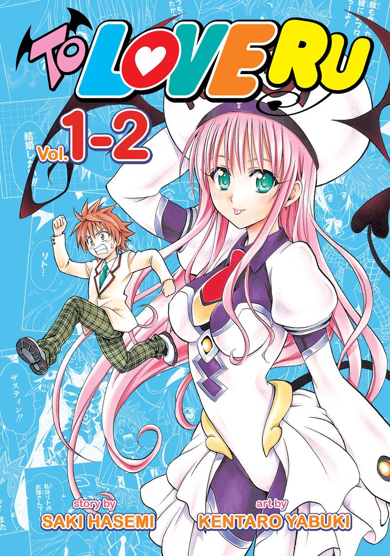 To Love Ru Manga Volumes 1-2