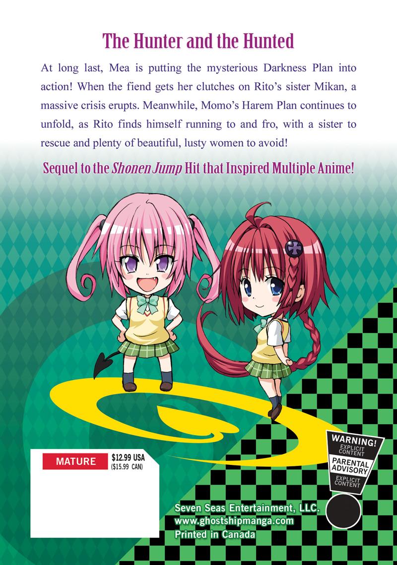 To Love Ru Darkness Manga Volume 2