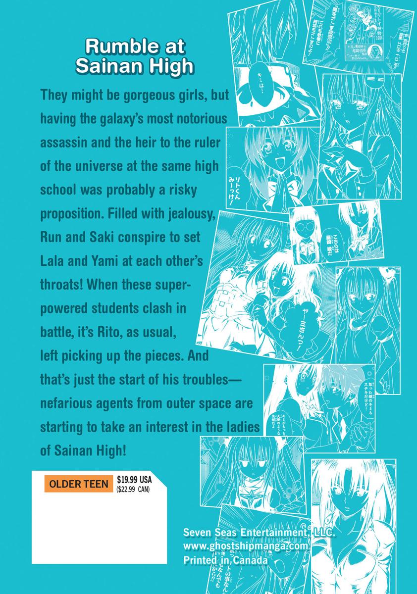To Love Ru Manga Volumes 9-10
