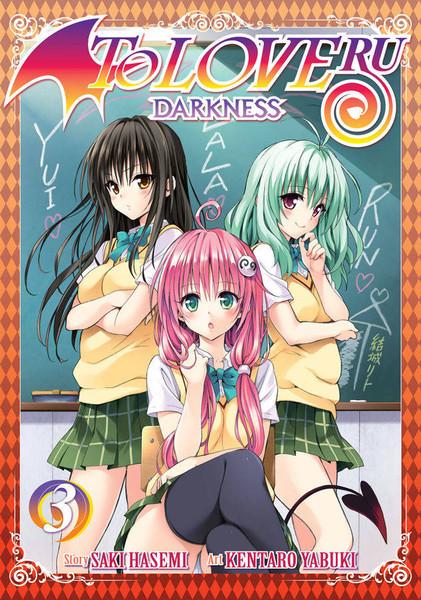 To Love Ru Darkness Manga Volume 3