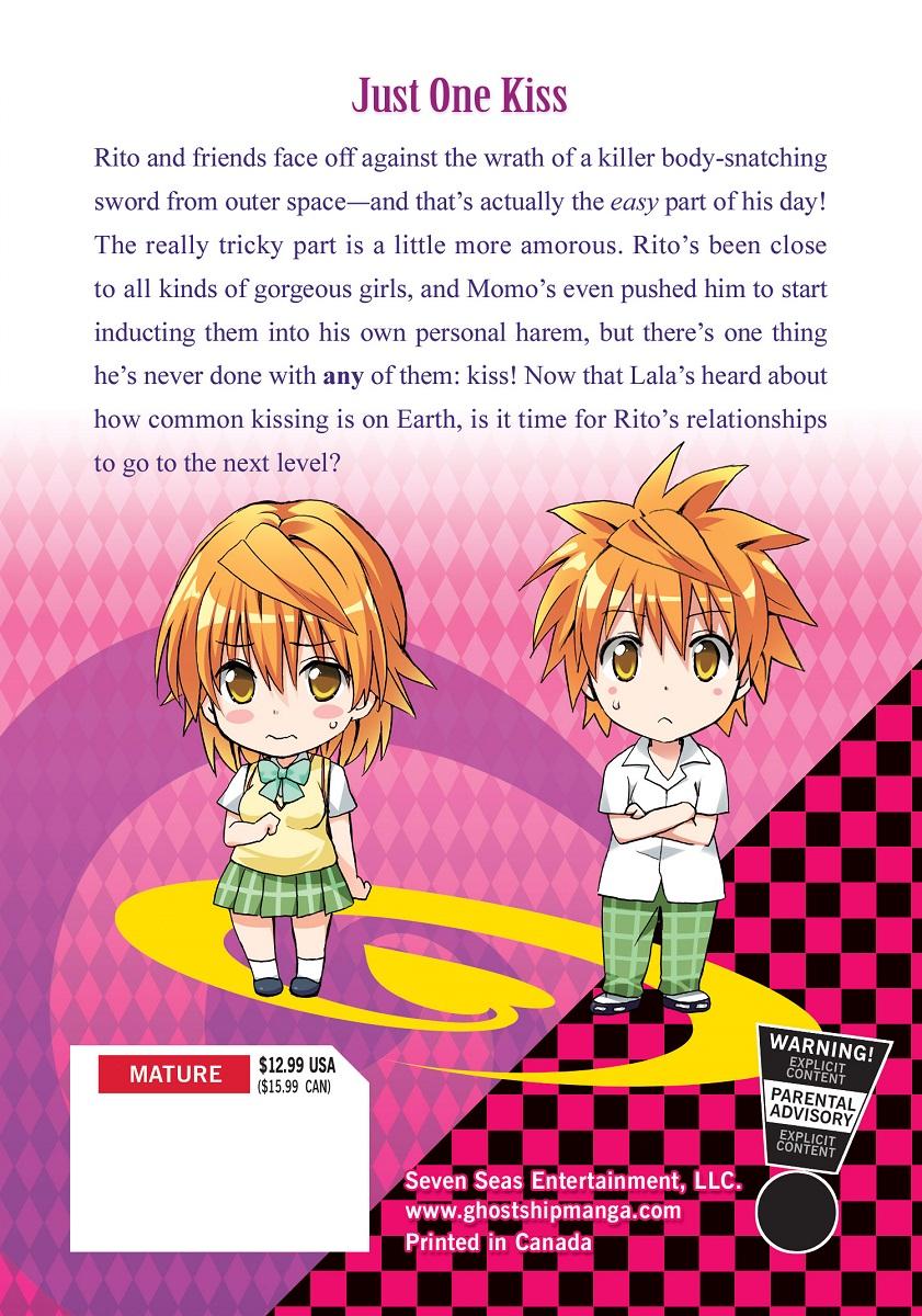 To Love Ru Darkness Manga Volume 9