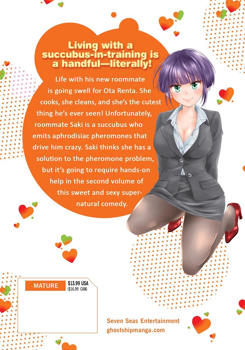 Saki the Succubus Hungers Tonight Manga Volume 2