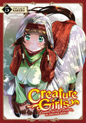 Creature Girls A Hands-On Field Journal in Another World Manga Volume 5