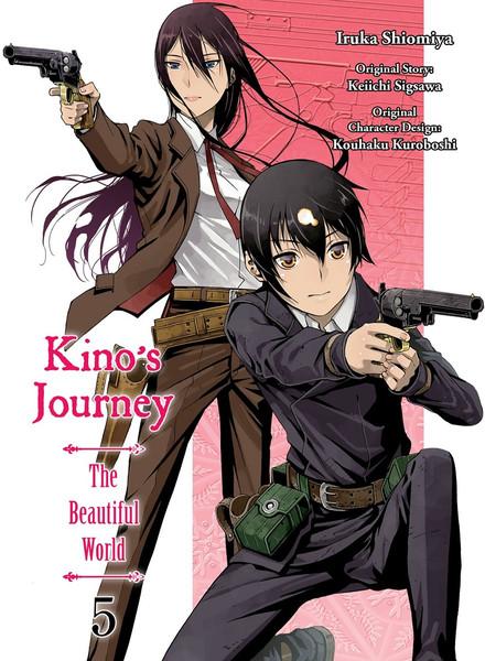 Kino's Journey the Beautiful World Manga Volume 5