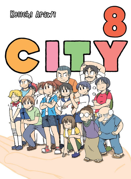 CITY Manga Volume 8