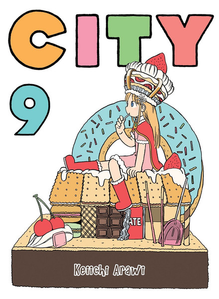 CITY Manga Volume 9