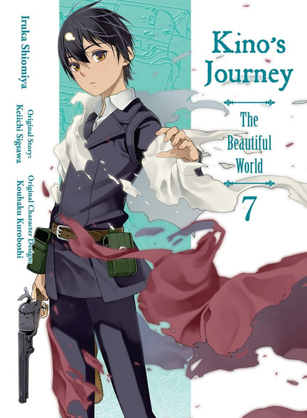 Kino's Journey the Beautiful World Manga Volume 7