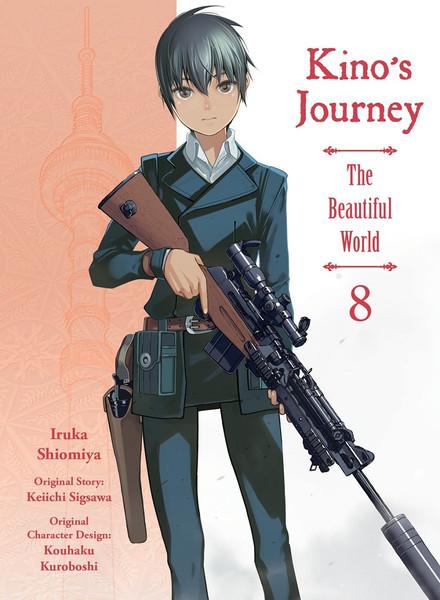 Kino's Journey the Beautiful World Manga Volume 8