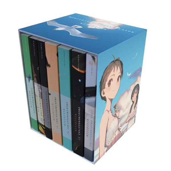 Monogatari Series Final Season Novel Box Set