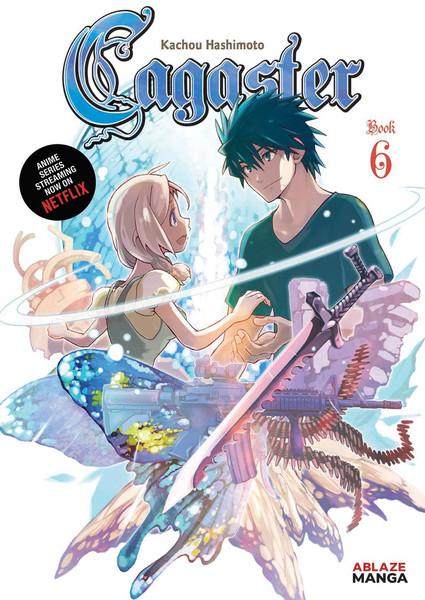 Cagaster Manga Volume 6