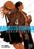 Gangsta Cursed Manga Volume 4