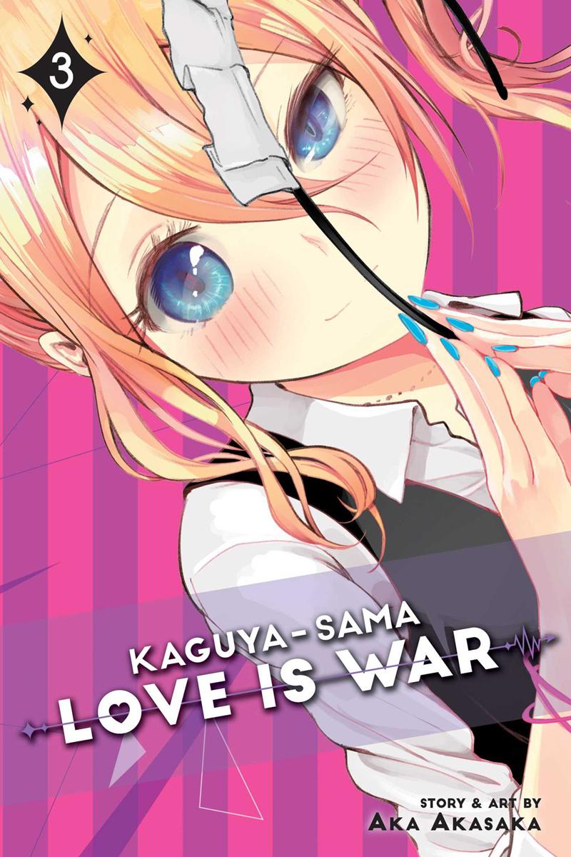 Kaguya-sama Love Is War Manga Volume 3