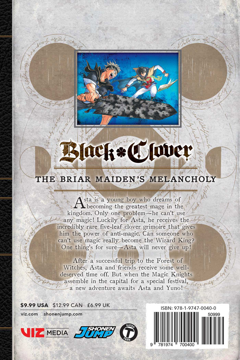 Black Clover Manga Volume 12