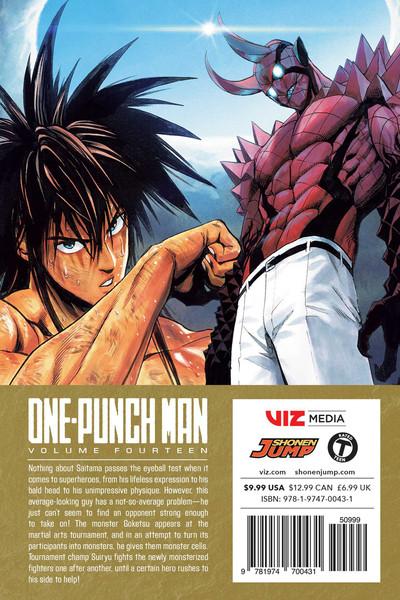 One-Punch Man Manga Volume 14