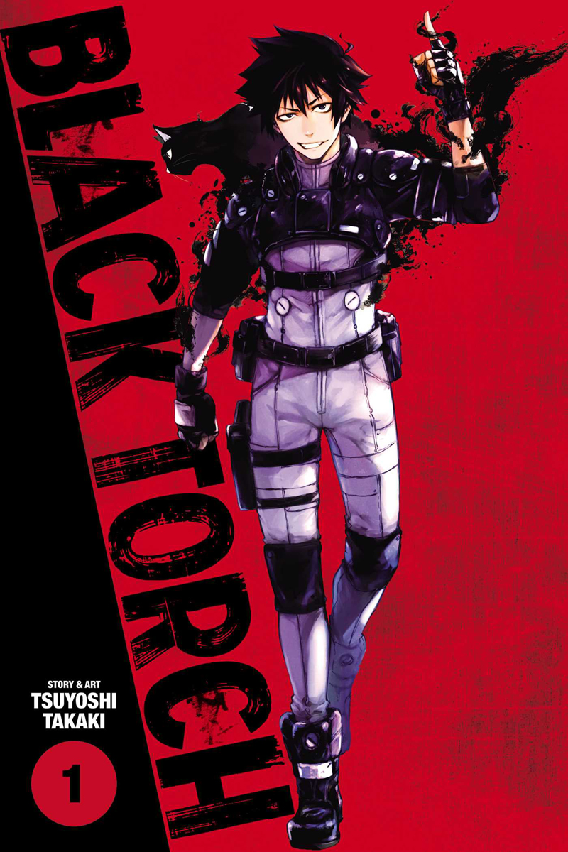 Black Torch Manga Volume 1