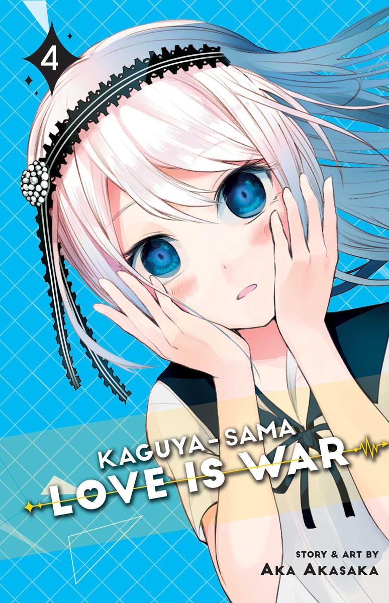 Kaguya-sama Love is War Manga Volume 4