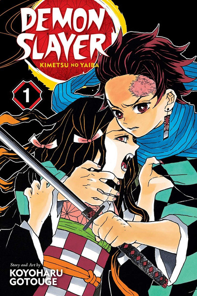 Demon Slayer Manga Volume 1