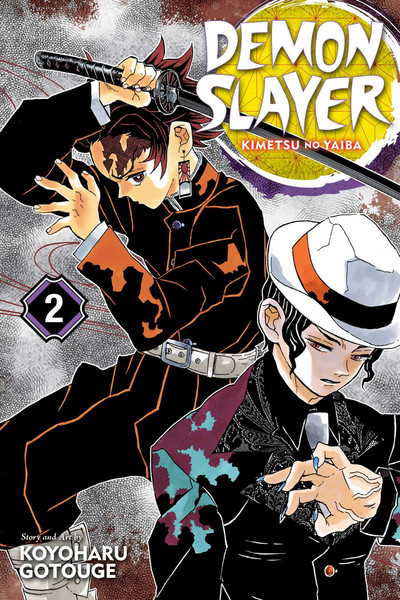 Demon Slayer Kimetsu no Yaiba Manga Volume 2