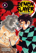 Demon Slayer Kimetsu no Yaiba Manga Volume 4