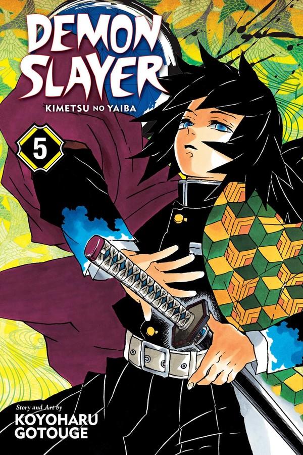 Demon Slayer Kimetsu no Yaiba Manga Volume 5