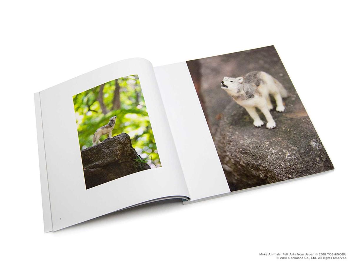 Make Animals Felt Arts from Japan