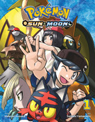 Pokemon Sun & Moon Manga Volume 1