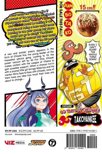 My Hero Academia Manga Volume 15