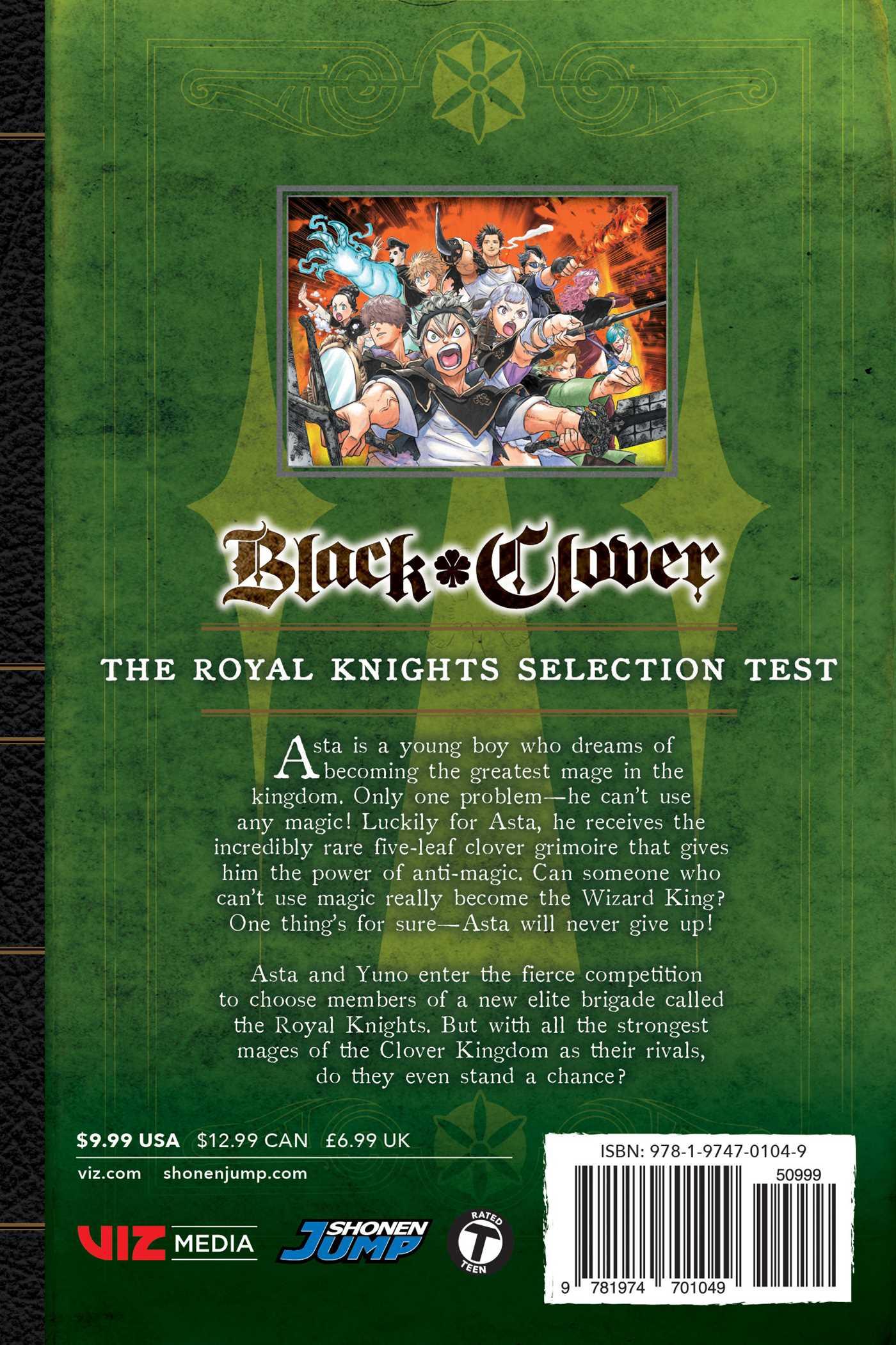 Black Clover Manga Volume 13