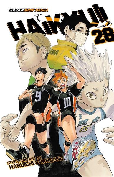 Haikyu!! Manga Volume 28