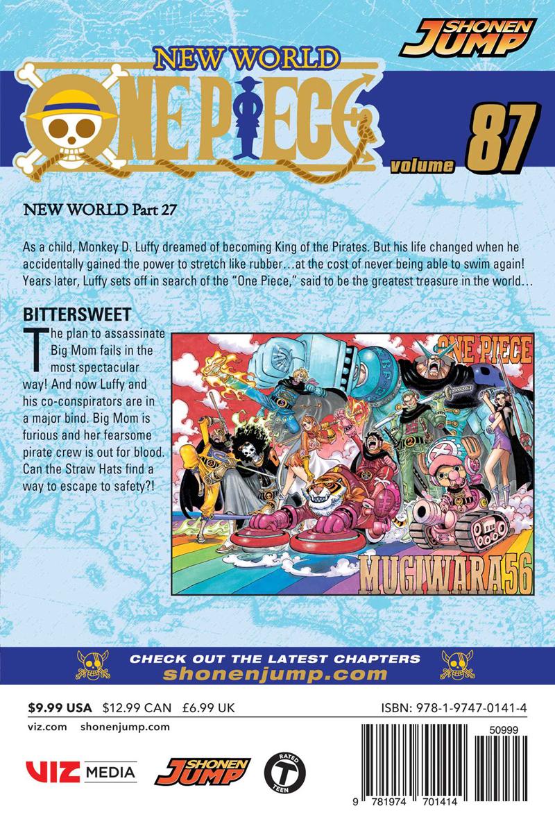 One Piece Manga Volume 87