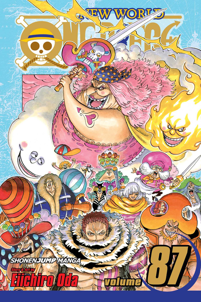 One Piece Manga Volume 87