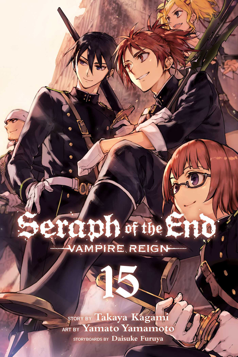 Seraph of the End Manga Volume 15