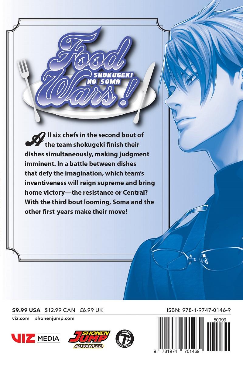 Food Wars! Manga Volume 27