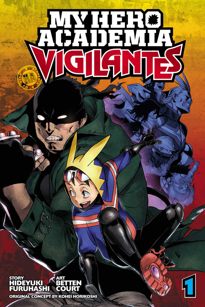My Hero Academia Vigilantes Manga Volume 1