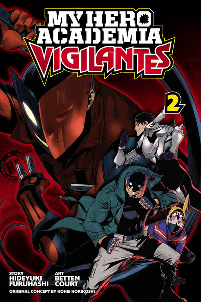 My Hero Academia Vigilantes Manga Volume 2