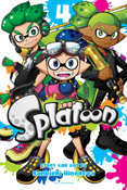 Splatoon Manga Volume 4