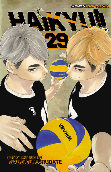 Haikyu!! Manga Volume 29