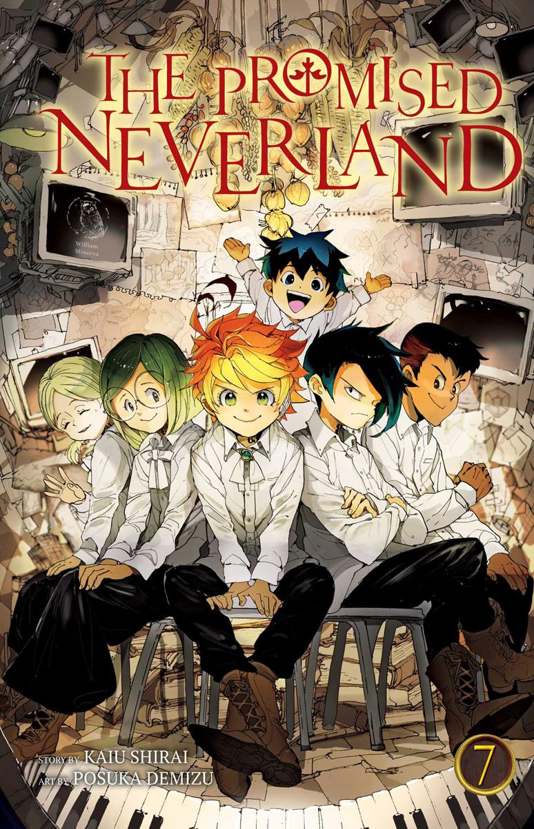 The Promised Neverland Manga Volume 7